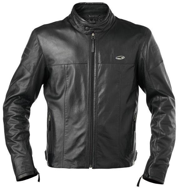 RRP £400 - Axo Brando Men's Motorcycle Leather Jacket - Large
