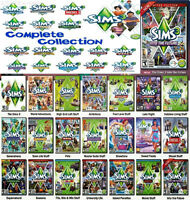 Collection complète SIMS 3