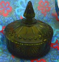 Lidded candy dish vintage
