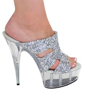Silver Heels for Women | eBay