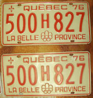 Plaque automobile - 1976 - License plate