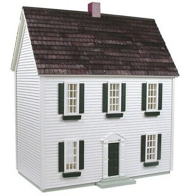 Real Good Toys 1/2 Inch Scale Colonial Dollhouse Kit Real Good Toys Dollhouses