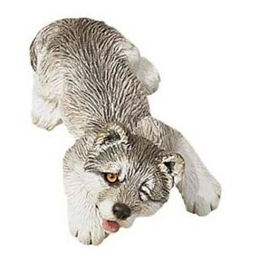 Wolf Sandicast Sculpture, Sandi-Cast, Snoozer & Peeper Wolves