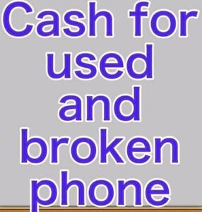 Buying used or broken( phone iPad tablet )l