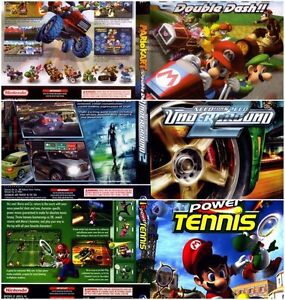 Looking for: Mario Kart, Mario Tennis, Need for speed for GC