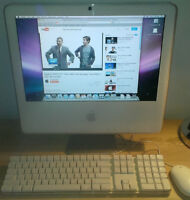 """Apple iMac 17"""" All-In-One PC A1195 Intel Core 2 Duo 1.83GHz 160G"""