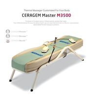 Ceragem deep acupressure infrared ray massage bed for sale