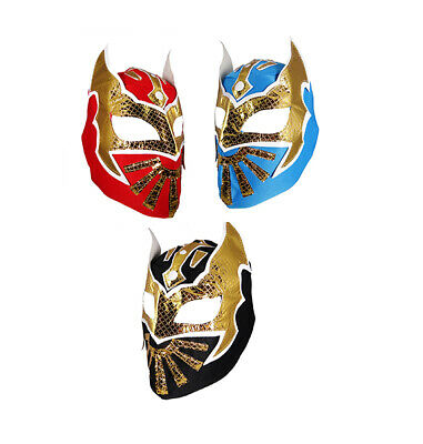 3 pack SIN CARA YOUTH KIDS Wrestling Mask Lucha Libre Mask P
