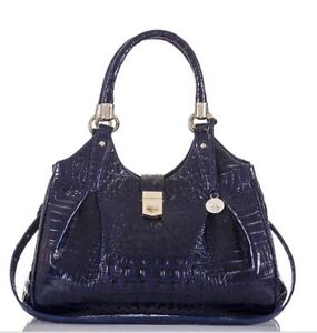 Brahmin Designer Leather Hobo Satchel