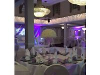 chair cover hire, Lien hire, Charger Plates hire, sofa hire All around London Essex and Kent