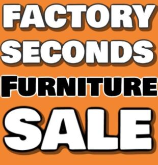 FACTORY SECONDS FURNITURE SALE - 50-80% off RRP Newcastle 2300 Newcastle Area Preview