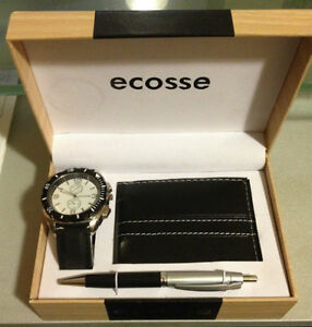 Ecosse - MEN'S - Watch, Wallet & Pen Set