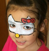 maquillage pout enfants (face painting for children)