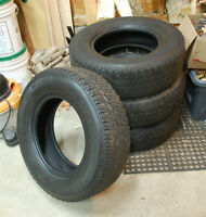 Set of 4 Michelin A/T 2 Tires LT225/75/16