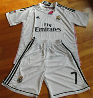 Jersey soccer et Short REAL MADRID 2015 - RONALDO - HOME