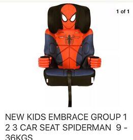 Spider-Man car seat