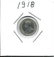 CANADA SMALL SILVER FIVE CENT COINS