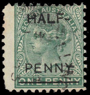 "SOUTH AUSTRALIA 75 (SG181) - Queen Victoria ""Provisional"" (pa51319)"