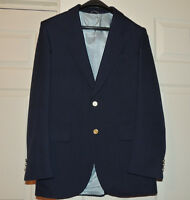 Men's dress jacket Navy Blue 38R