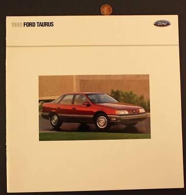 1990 Ford Taurus Wagon - 1990 Ford Motor Car company Taurus LX, L,GL,Sho,& Wagon brochure-VINTAGE!*
