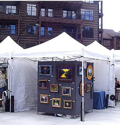 "Ernie Kleven's ART DISPLAY PANEL ""PLANS"" FOR ART/Craft FAIR EXHIBITS"
