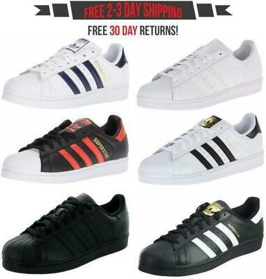 adidas Superstar Men's Fashion Sneakers Retro Classic Casual Shoes Originals