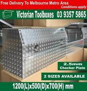 1200mm long 700mm height half recessed door ute toolbox Campbellfield Hume Area Preview