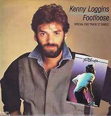"""12"""" Single Kenny Loggins - Footloose  ( 5 track single)   CBS TA-4101"""