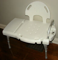 Bathtub bath Transfer Bench Chair by Invacare
