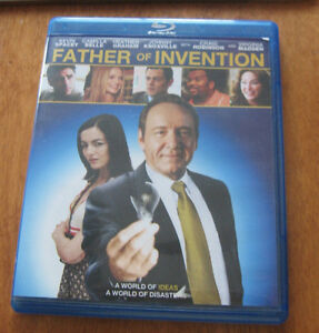 BLU RAY MOVIE FATHER OF INVENTION St. John's Newfoundland image 1