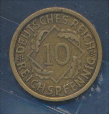 Deutsches Reich Jägernr: 317 1933 J sehr schön 1933 10 Reichspfennig (7879700