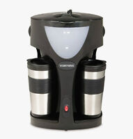 Just used a couple time**Toastess Twin Coffeemaker