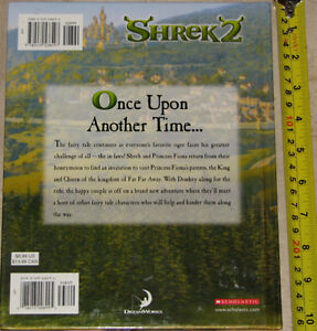 Qty 2 x Shrek 2 - The Movie Story Book Hard Cover Books London Ontario image 2