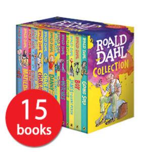 Roald Dahl Box Set Book Collection - 15 Books