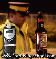 Approved Breathalyzer in car for the road test in Toronto