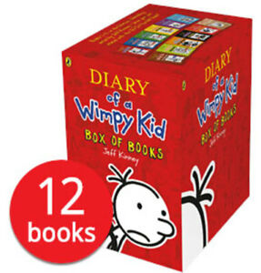 Diary of a wimpy kid books box set ebay diary of a wimpy kid box set collection 12 books new 2018 solutioingenieria Images