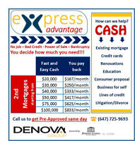 ➽➽➽eXpress Advantage – HOMEOWNERS ➽ Get the Urgent Cash You Need