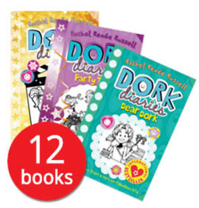 Dork Diaries Book Set Collection - 12 Books