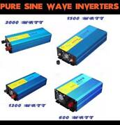 INVERTER PURE SINE WAVE CAR CARAVAN BOAT 4WD CAMPING 600 1200 150 Hoppers Crossing Wyndham Area Preview