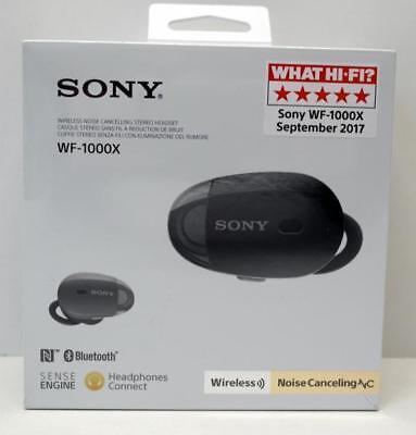 Sony WF-1000X schwarz Kopfhörer