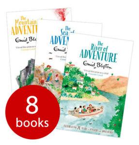 Enid Blyton Adventure Series Collection - 8 Books