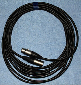 New XLR Cables