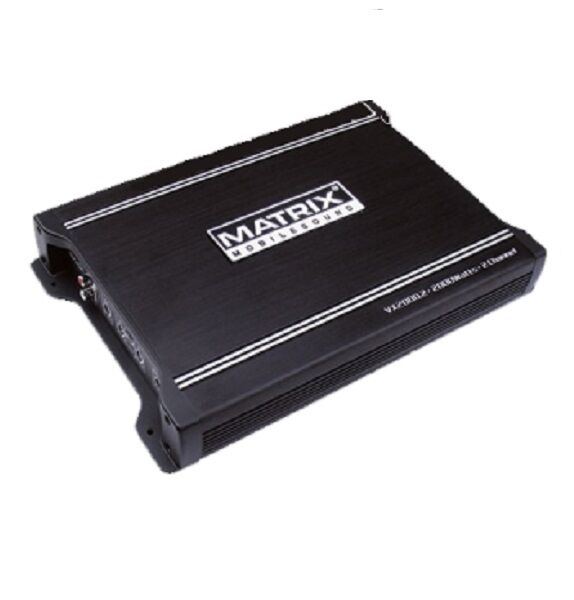 MATRIX AUDIO VX2000.2 AMP CAR STEREO AUDIO 2000W POWER 2 CHA