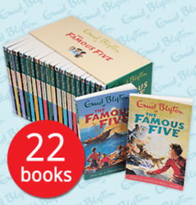 The Famous Five Boxed Book Set Collection - 22 Books
