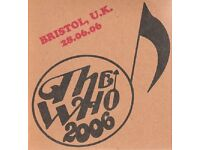 THE WHO LIVE AT ASHTON GATE 2006 DVD ENTIRE CONCERT