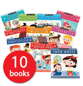 Fairy Tale Readers Collection - 10 Books