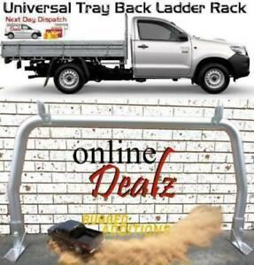 "UNIVERSAL 3""; TRAY BACK LADDER RACK REAR ALUMINIUM 92H X 174W cm"