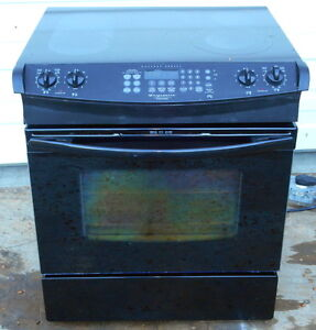 Frigidaire Smooth Top Stove - Insert - Convection - Self-Clean -