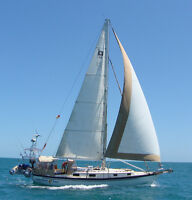 Pearson Cutter Sailboat in the Caribbean