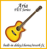 Introducing new Aria FET Series acoustic electric guitars-